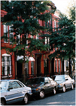 Houses in Harlem