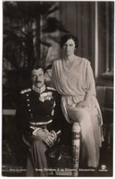HM King Christian 10 and HM Queen Alexandrine